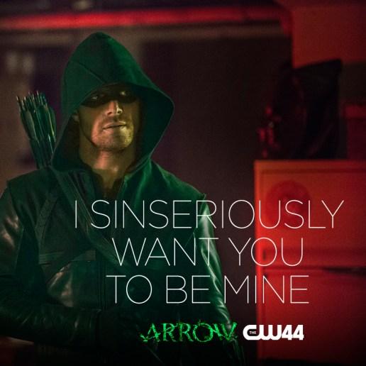 Arrow - Oliver Queen.