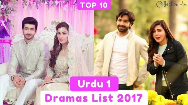Top 10 Urdu 1 Dramas List 2017 2