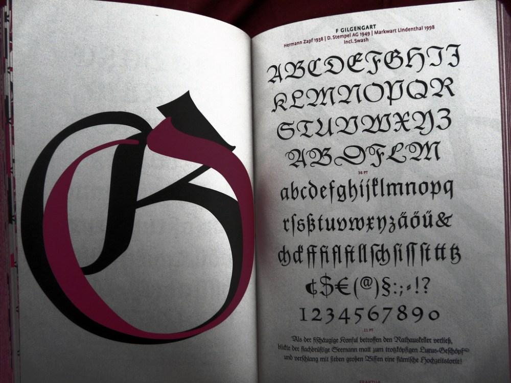 Top Ten: Tipografía Gótica (6/6)