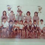 Class of 1981 - Canadian Principal, 3 local teachers, 1 general helper & first batch of 10 students