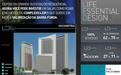 Led Barra Funda - Hotel e Office