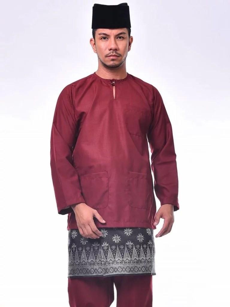 Pakaian Adat Melayu Riau Laki Laki