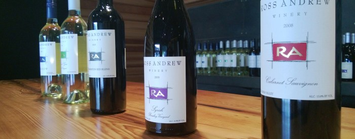 Ross Andrew Winery // Serious Crust by Annie Fassler