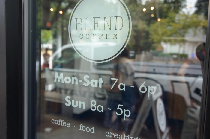 Blend Coffee // Serious Crust by Annie Fassler