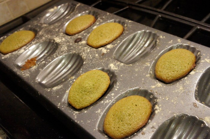 Matcha Green Tea Madeleines // Serious Crust by Annie Fassler