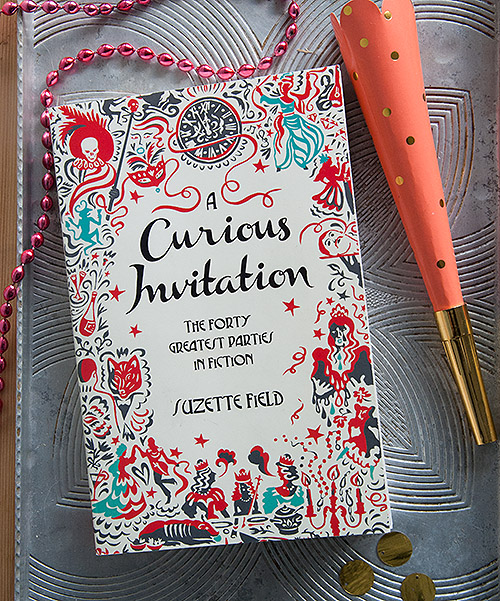 A Curious Invitation by Suzette Field // Serious Crust by Annie Fassler