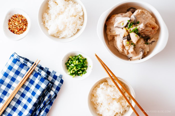 Miso Coconut Chicken from I am a Food Blog // Serious Crust by Annie Fassler