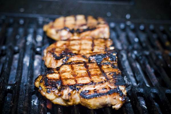 Marinated Grilled Pork // Weekend Finds on Serious Crust by Annie Fassler