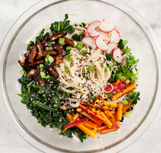 Sesame Noodle Salad from Love & Lemons // Weekend Finds on Serious Crust by Annie Fassler