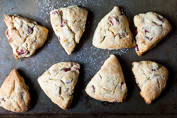 Rhubarb Scones on Weekend Finds // Serious Crust by Annie Fassler