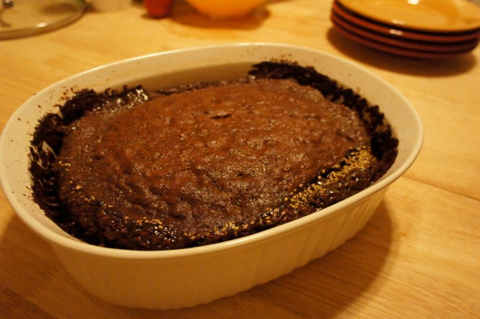 Miso Sticky Toffee Pudding // Serious Crust