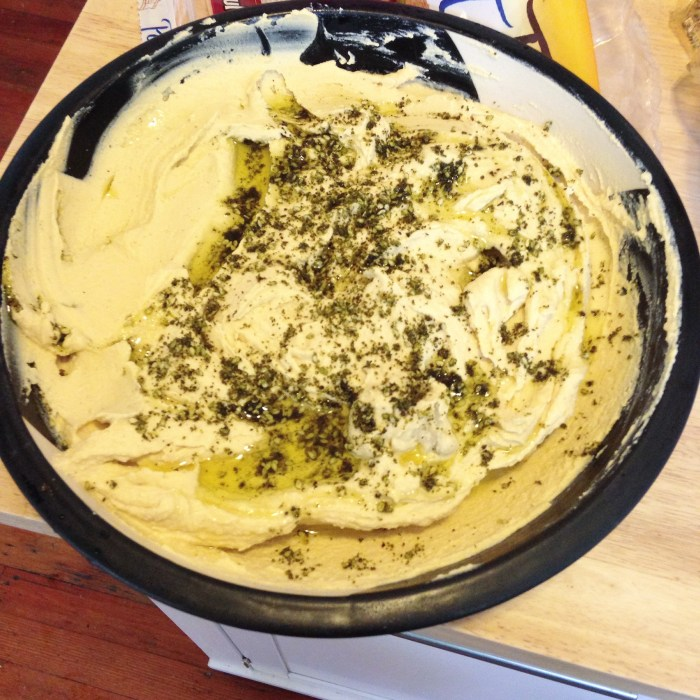 Homemade Hummus 2015 | Serious Crust by Annie Fassler