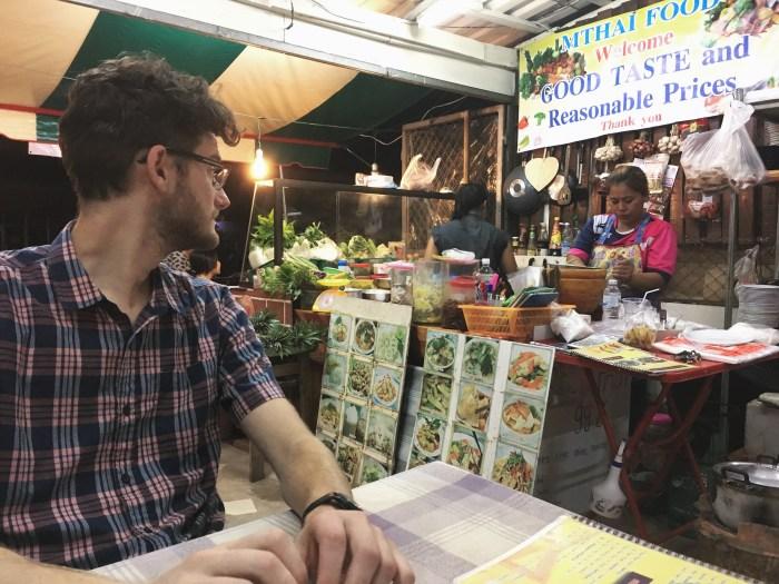Dinner on Koh Lanta, Thailand | Serious Crust by Annie Fassler