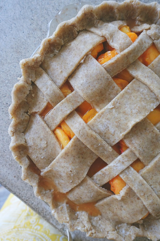 Peach Pie with Rye Crust | Serious Crust by Annie Fassler