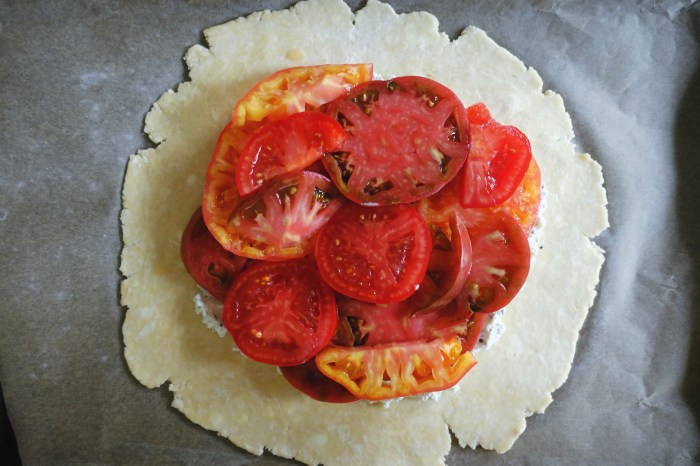 Tomato and Ricotta Galette | Serious Crust by Annie Fassler