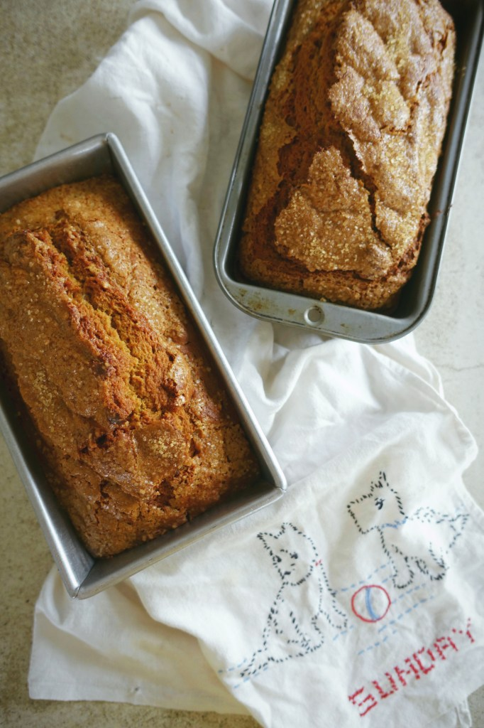 Brown Butter Pumpkin Bread | Serious Crust by Annie Fassler