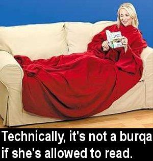 Snug as an oppressed bug in a rug.