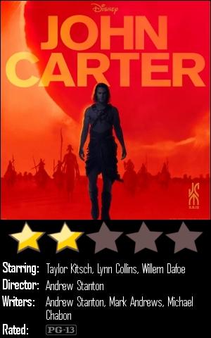 Movies I've Sneen: 'John Carter'