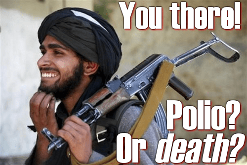 What do Jenny McCarthy and the Taliban have in common?