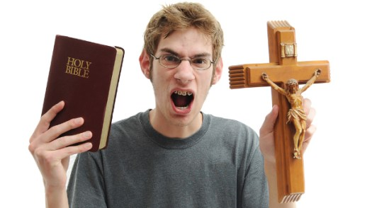 Angry Christians will now have to resort to religious iconography and braces to avoid having to suck a d*ck.
