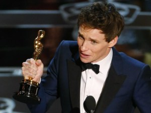 Eddie Redmayne, Best Actor* (Pre-integrated Academy Awards)