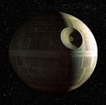 Spoiler alert: That's no moon.