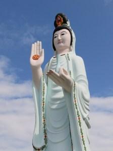 Female Buddha statue