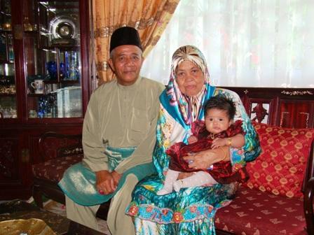 With grand pa & grand ma