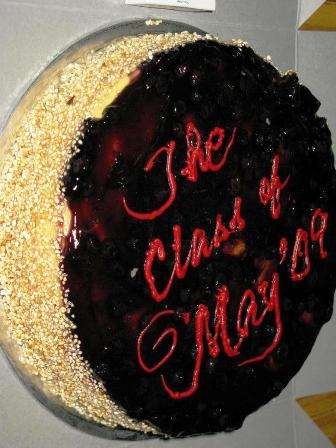 The 'Cheese Cake' brought by Mr. & Mrs. Jan Shim. Thank you...