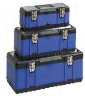 Conjunto de Cajas Metálicas Reforzadas