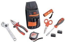 Bolsa de Nylon para Cinturón con Herramientas 15 piezas composicion