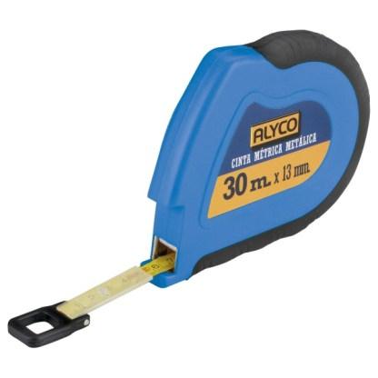 Flexómetro largo de cinta metálica