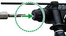 Martillo Combinado DH24PH montaje brocas