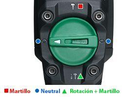 Martillo Combinado DH40MC 2 modos de uso