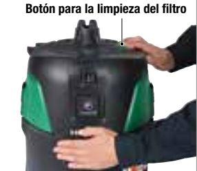 Aspirador RP250YDL limpieza