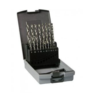 Set de 19 Brocas para Metal HSS-G DIN 338