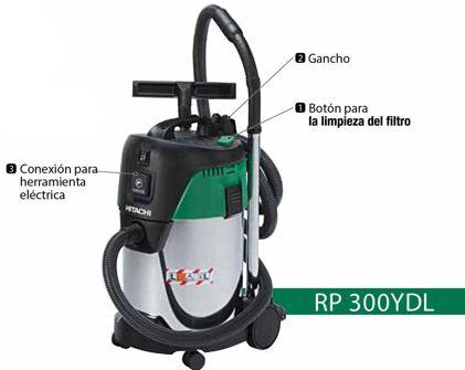Aspirador RP300YDL partes