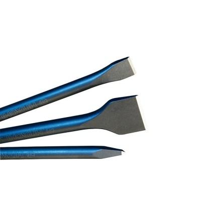 Set de Puntero, Cincel y Cincel ancho SDS-MAX 400mm