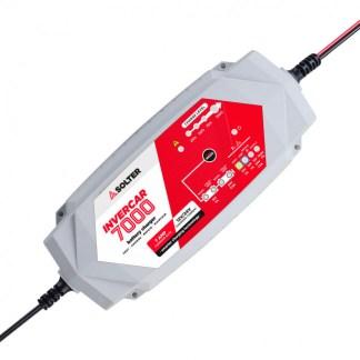 Cargador inteligente de baterías INVERCAR 7000 12/24V