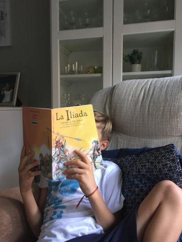 A mi hijo no le gusta leer: nuestra experiencia