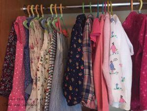 cómo organizar el armario de los niños