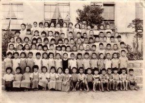 1956년, 3학년 학급사진