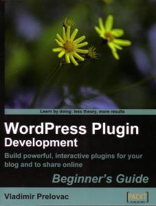 WordPress Plugin Development book cover