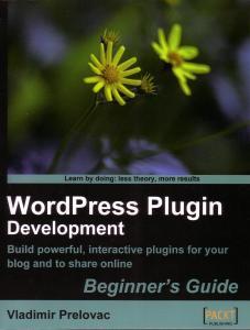 WordPress Plugin Development book cover
