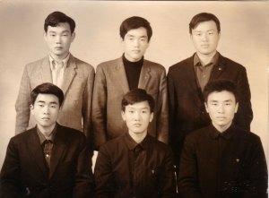 1969년, 양건주 군대 가기 전에 찍은 기념사진