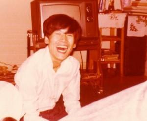 파안대소의 성성모 씨 1974년