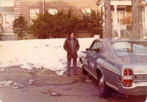 Ford XL 옆에서, Nyack Hospital 1973년