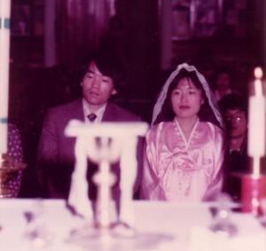 1982년 부활절 영세 받던 날, Columbus, Ohio