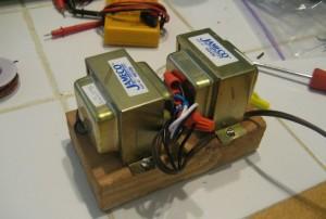 Temporary a/c transformers