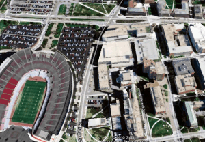 Ohio Stadium near Dreese Lab